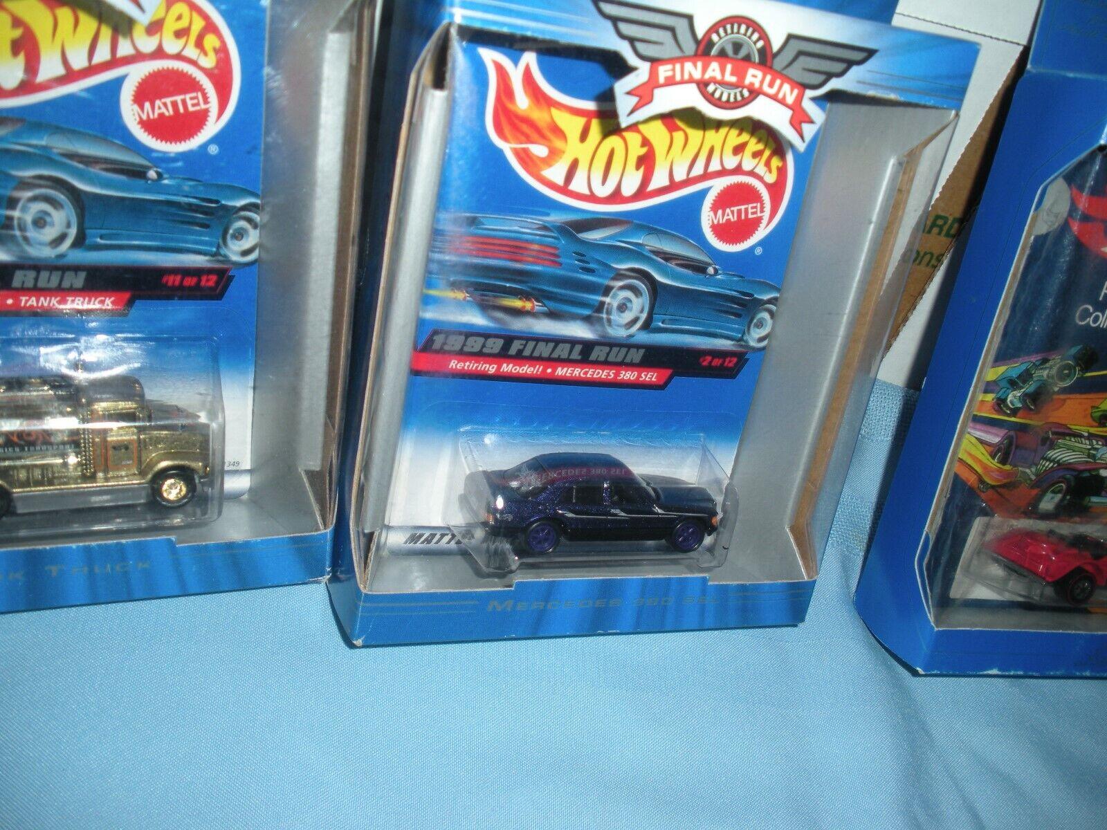 Hot Wheels 1973 Commemorative Replica Sweet Sweet Sweet 16 Final Run Mercedes 380 Sel + 1 669362