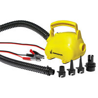 Airhead Air Pig 12v Pump For Inflatable/towable With 4-pack Valve Adapters