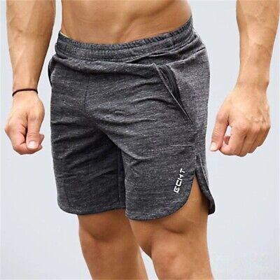 Echt Mens Knit Shorts Running Training Fitness Gym Joggers Short Sport Jogger UK