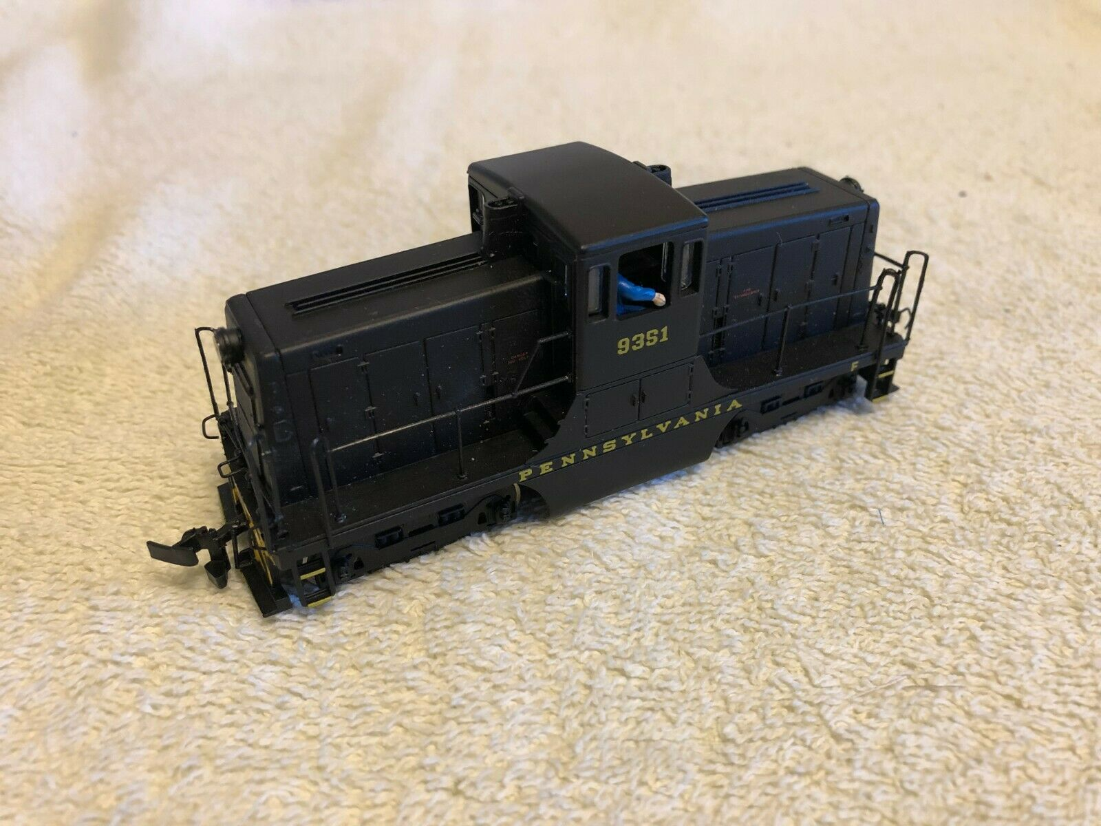 Bachmann Spectrum negrobox 44 Ton Gemini Locomotora, Pennsylvania Railroad  9351 exclusivo.