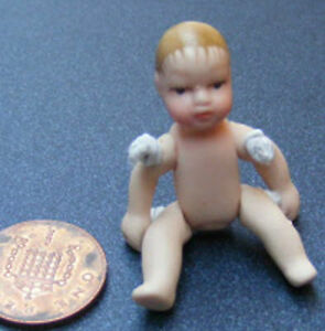 1-12-Scale-Doll-House-Miniature-Undressed-Porcelain-Baby-Nursery-Accessory-155