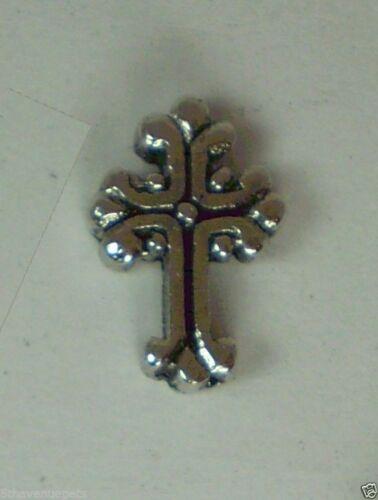 Vintage cross christ Floating charms for floating living memory locket owl