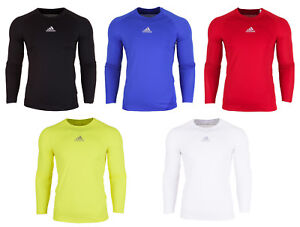 bbd331bc6 Image is loading Adidas-Mens-Alphaskin-Long-Sleeve-T-Shirt-Climalite