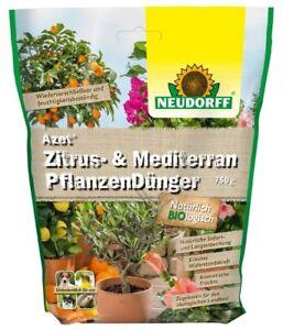 NEUDORFF Azet Zitrus und Mediterran Pflanzen Dünger 750g Orangen Dünger Palmen