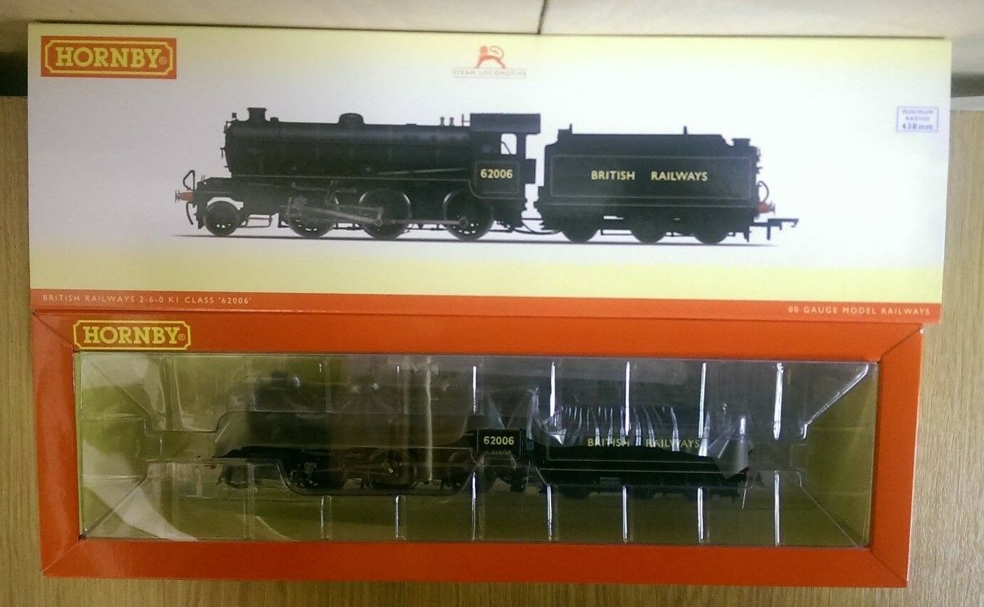 Hornby R3418 BR Early 2-6-0 Class K1 Locomotive 62006 DCC Ready