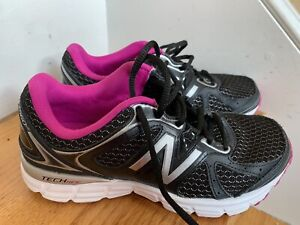 Apprehensive New Balance Sneakers W560rb6 Size 6.5m/37 Black Run Walk Fitness Gym Ecu Removing Obstruction Athletic Shoes