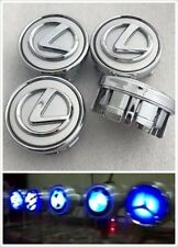 Lexus Light Up Floating Spinning Wheel Rim Center Hub Caps ( a set of 4 )