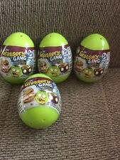 Grossery Gang Surprise Eggs Lot Of 4 Free Shipping
