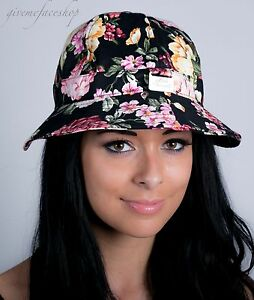 0f4a2389a30fe Image is loading Ladies-men-bucket-hats-sun-derby-holiday-hip-