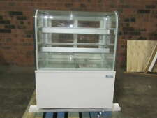 Avantco 36 Curved Glass Refrigerated Bakery Display Case White Bc 36 Hcw
