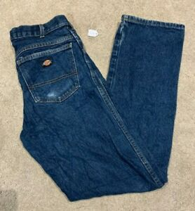 Mens Dickies Denim Blue Jeans (Size W31 L34) #L44