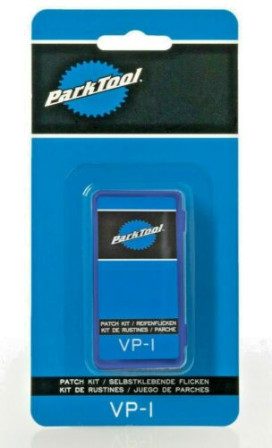 Park Tool VP-1 Puncture Repair Patch Kit 6 x Patches Sandpaper in Box Brompton