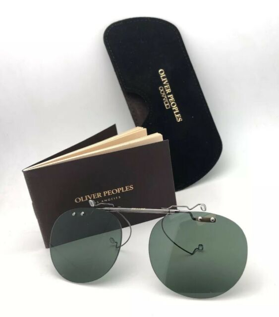 61e19e6ce605 Oliver Peoples 5004c Riley-r Flip-up Clip Sunglasses 5071 Authorized ...