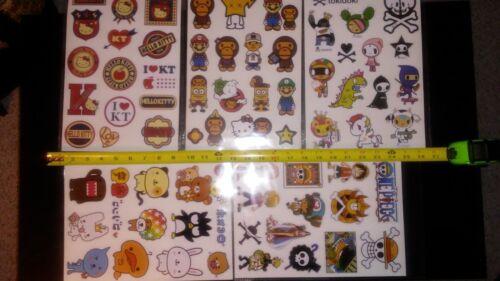 "8/"" x 13/"" Tokidoki Unicorno Donutella Moofia Cactus Skateboard Laptop Car Sticker"