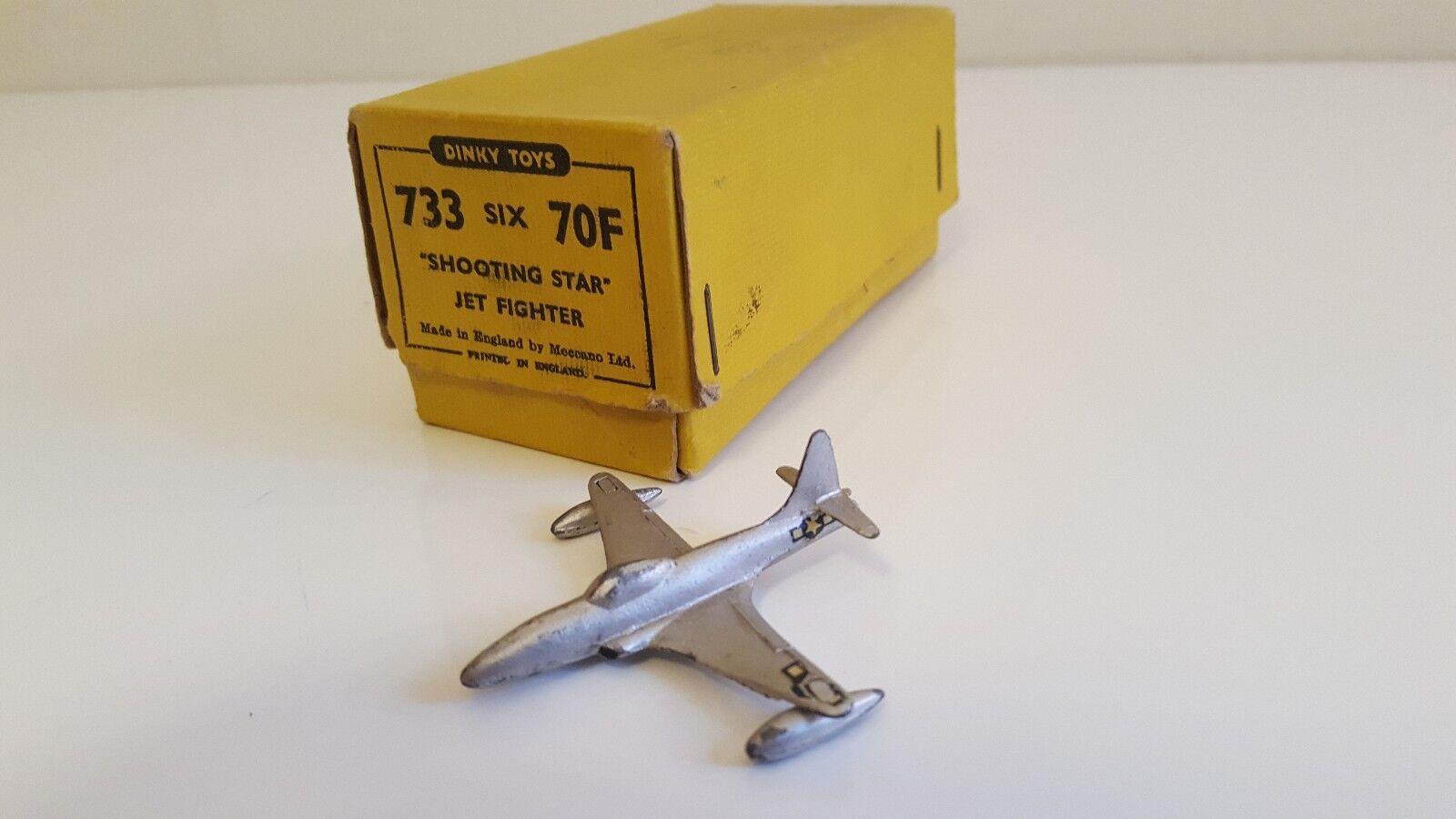 Dinky Toys 70 F   733 - Shooting Star Jet Fighter en boîte revendeur