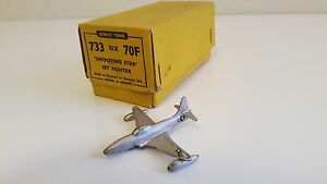 Dinky Toys 70 F / 733 - Shooting Star Jet Fighter En Boîte Revendeur