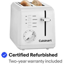 Cuisinart CPT-122 Compact 2-Slice Toaster (White)