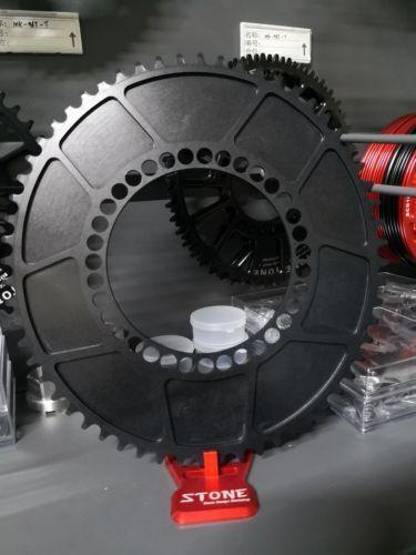 Sistema 1x BCD130 Ancho Oval Plato Estilo Estrecho Ancho BCD130 Aero 50T 52T 54T 56T 58T 60T a00ba0