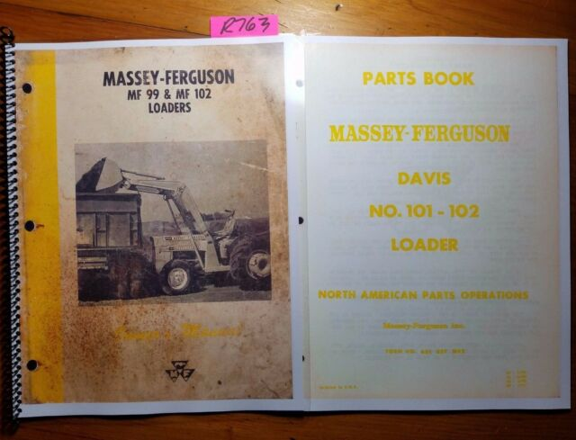 Mf 690 Operators Instruction Book Business, Office & Industrial