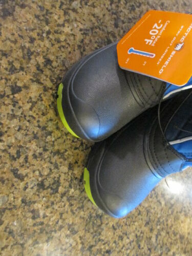 20 Waterproof NWT boy youth zipper Arctic Shield Kid Winter Snow Boots 4 rated