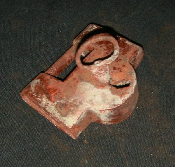 """Pratico Attrezzi/utensili/chiavi/lucchetti/serrature"""" Antico Catenaccio """" Ferro Gr.235"""