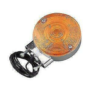 Chris Products 8500A Chrome Amber Bullet Style Turn Signal Assembly