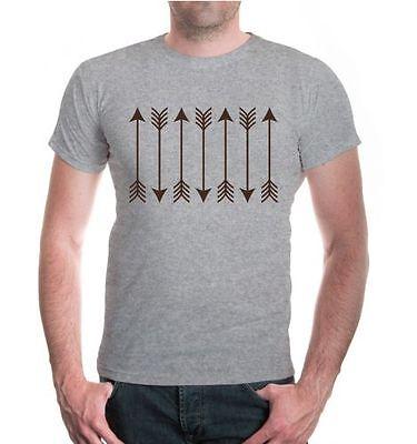 2019 Ultimo Disegno Uomo Unisex A Maniche Corte T-shirt Archery Arrows Arco Sparare Fanshirt Frecce-