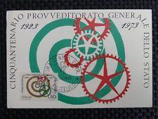 Italia MK 1973 ITALY 1408 beni maximum carta carte MAXIMUM CARD MC cm a8814