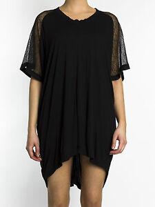 BNWT-Religion-Hazing-Dress-in-Jet-Black