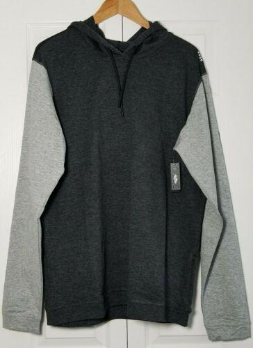 SODO Men/'s SLU Premium Performance Pullover Hoodie XXL Heather Charcoal//Cloud