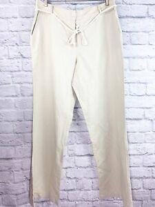 Linen pants   White Bell Bottom Wide Leg Women Pants