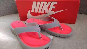 8c1198216f68 Image is loading NWT-Womens-Nike-Ultra-Comfort-Thong-Sandals-882697-
