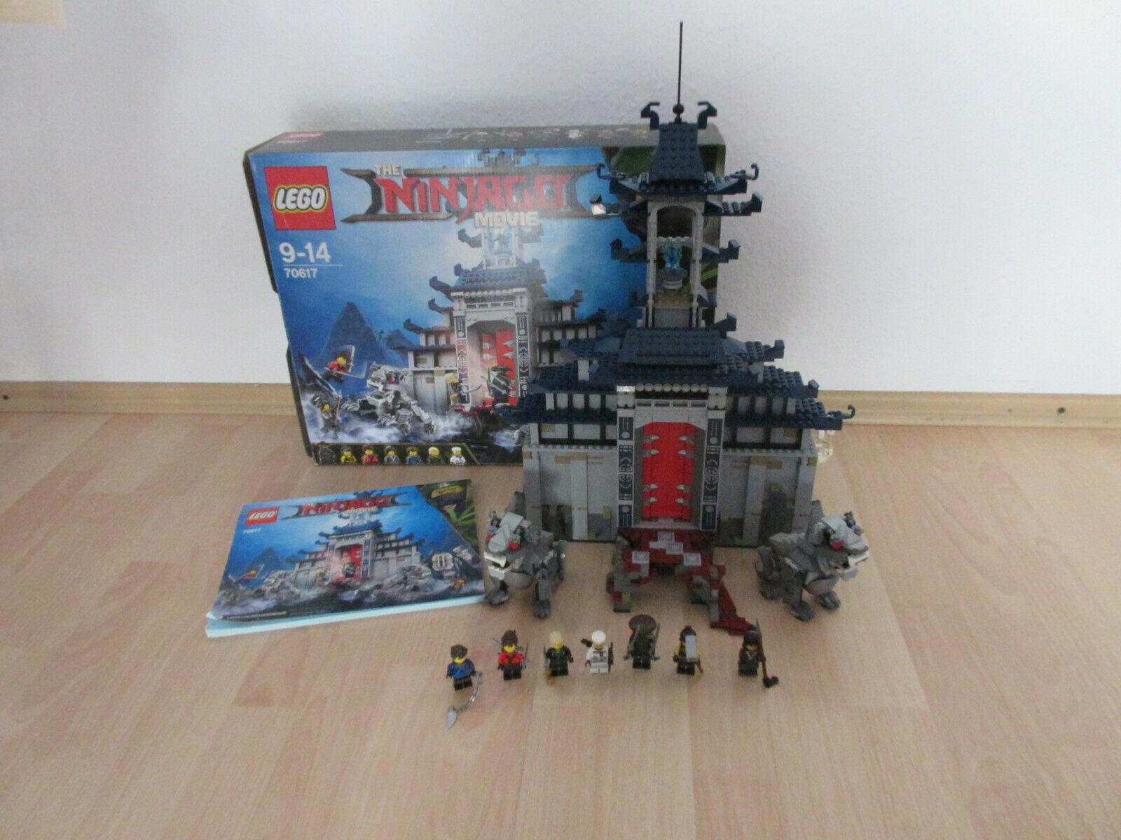 LEGo Ninjago 70617 Ultimativ Tempel Versteck mit Figuren, Bauplan & Karton