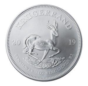 2019-South-Africa-1-oz-Silver-Krugerrand-1-Rand-Coin-GEM-BU-SKU56598