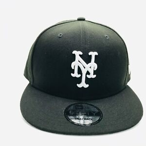 uk availability 9ef74 fda97 Image is loading New-York-Mets-Basic-New-Era-9Fifty-MLB-
