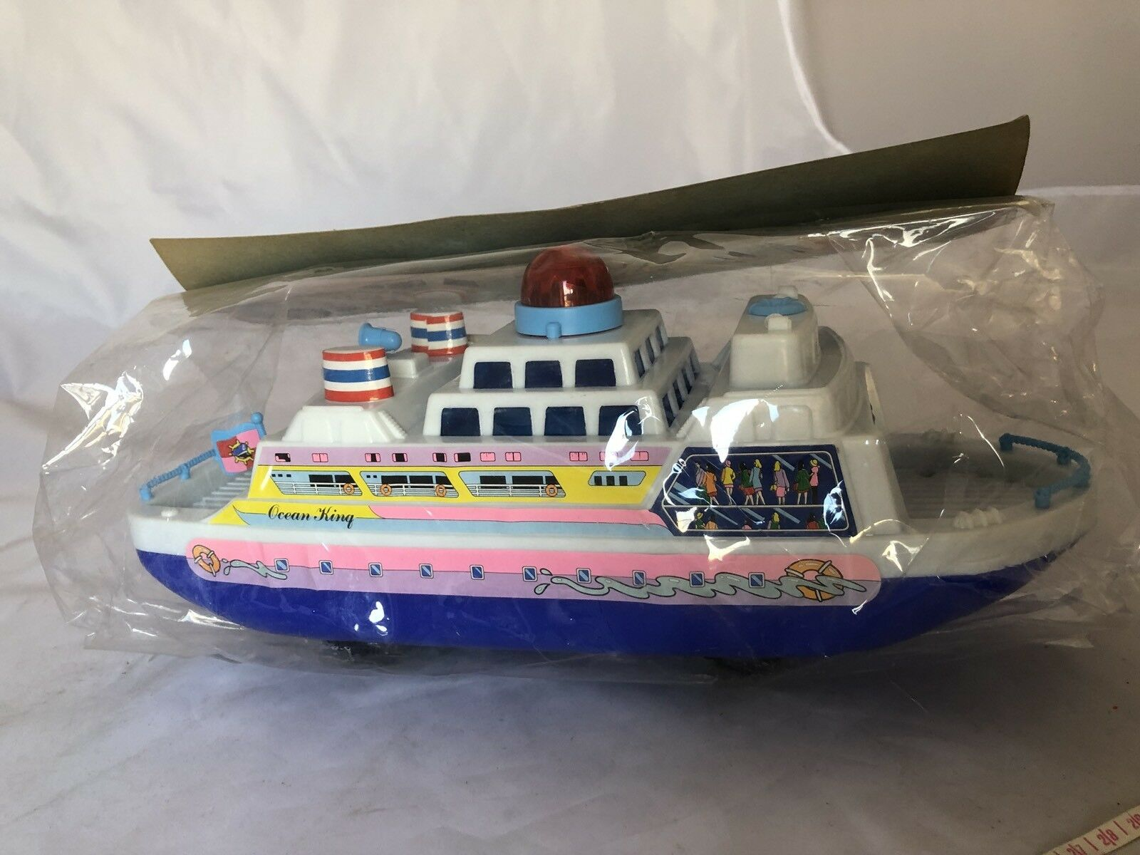 Vintage Toy MGM Star Ferry Boat.1990's.Nave Ship Plastic.Very Rare.Apex Toys.