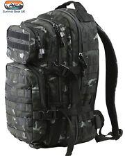 Kombat BTP Black Small Assault back pack / daysack 28 Litre  MTP / Multicam