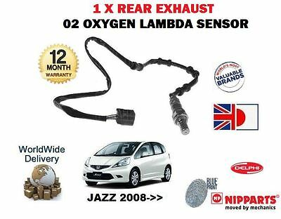 FOR HONDA JAZZ 1.2 1.4 iDS 2004-2008 REAR LOWER POST CAT 02 OXYGEN LAMBDA SENSOR