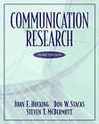 Communication Research by John E. Hocking, D.W. Stacks, Steven T. McDermott, D. W. Stacks (Hardback, 2002)