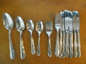 50 Pcs Oneida Stainless Service For 8 Dinner Forks Knives