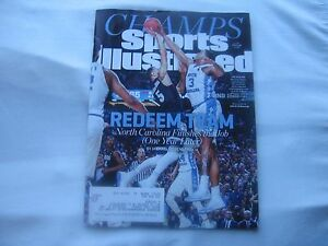 North Carolina Tar Heels Featured Cover Sports Illustrated  04-10-17