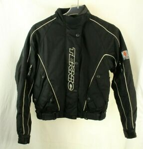 Teknic-Hydro-Guard-Motorcycle-Womens-Jacket-Black-Size-8-36