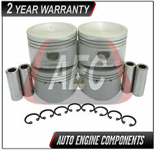 Piston Set Fits Nissan Sentra 1.6 L GA16DE  #P2610