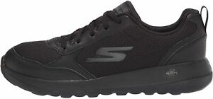 Skechers-Men-039-s-Gowalk-Max-Otis-Athletic-Air-Mesh-Lace-Up-Black-Size-9-0-hmSp