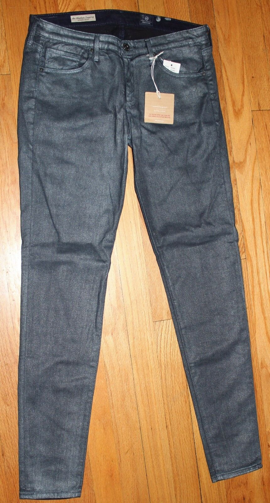 178 AG ADRIANO goldSCHMIED THE ABSOLUTE LEGGING EXTREME SKINNY JEANS SZ 29