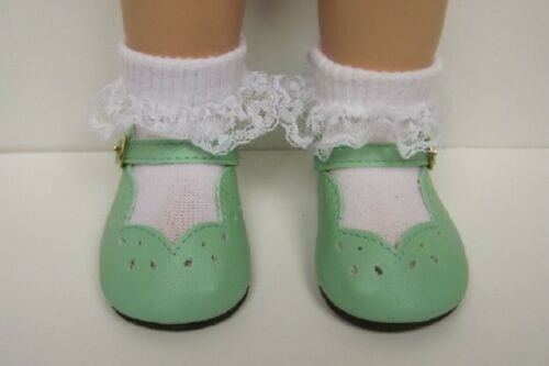 LT Debs Light GREEN Scallop Doll Shoes For Chatty Cathy More Colors Available