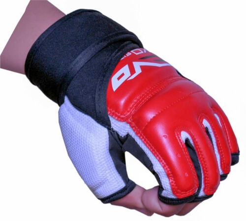 EVO MMA Gloves Grappling Karate Mitts Boxing GEL Martial Arts Body Combat UFC