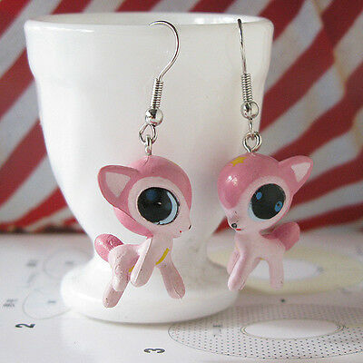Harajuku Kawaii Lolita Kitsch Big Eye Deer Dangle Earrings