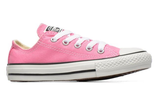 converse niña rosa
