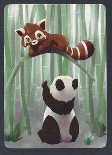 Giant Panda /& Red Panda #850.030 MODERN WIDE swap card MINT